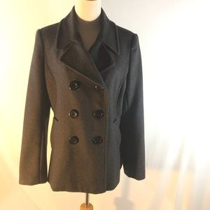 Chadwicks of Boston Double Breasted Wool Coat